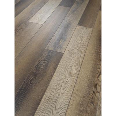 Bristol 5 in. W Impluse Click Lock Luxury Vinyl Plank Flooring (15 sq. ft./case)
