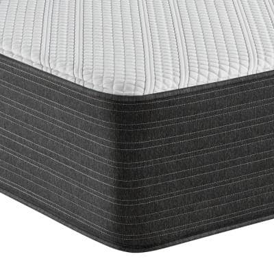 Hybrid 13 in. Plush Mattress With 6 in. Box Spring