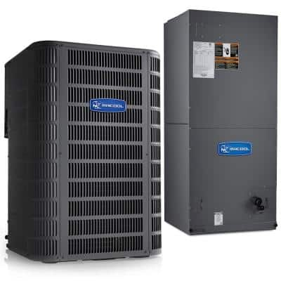 Signature 2-Ton 15.5 SEER 8.5 HSPF Complete Split Air Conditioning Heat Pump System