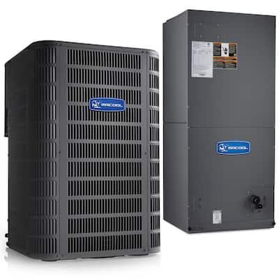 Signature 3-Ton 15.5 SEER 8.5 HSPF Complete Split Air Conditioning Heat Pump System
