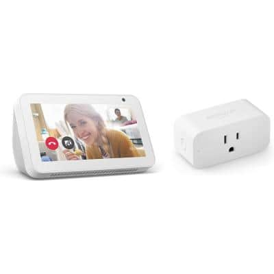Echo Show 5 Plus Smart Plug in Sandstone