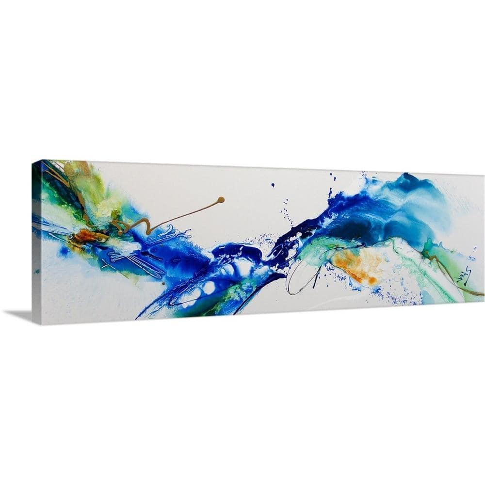 Greatbigcanvas Cool Rhythm By Jonas Gerard Canvas Wall Art 2448631 24 36x12 The Home Depot