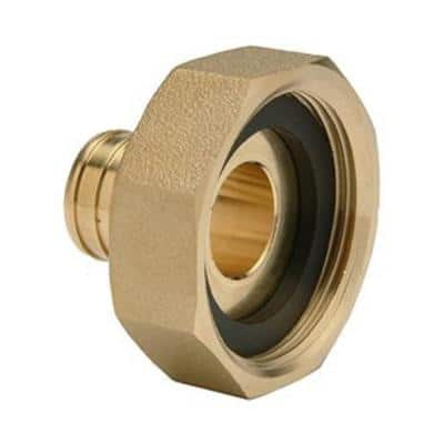 3/4 in. x 3/4 in. Bronze Tail Piece Kit for PEX
