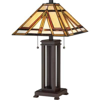 Gibbons 22.5 in. Russet Table Lamp