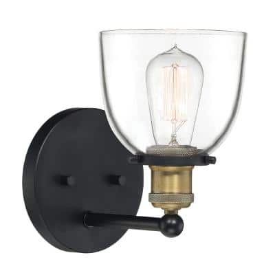 Bryson 1-Light Vintage Bronze Wall Sconce