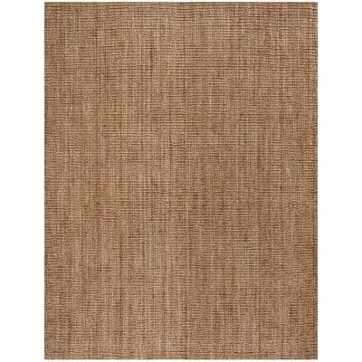 Natural Fiber Beige/Grey 8 ft. x 10 ft. Indoor Area Rug