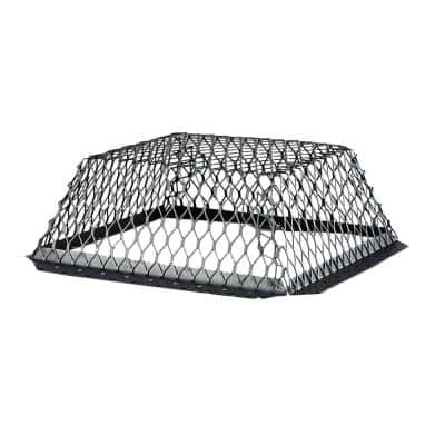 VentGuard 16 in. x 16 in. Roof Wildlife Exclusion Screen in Galvanized Black