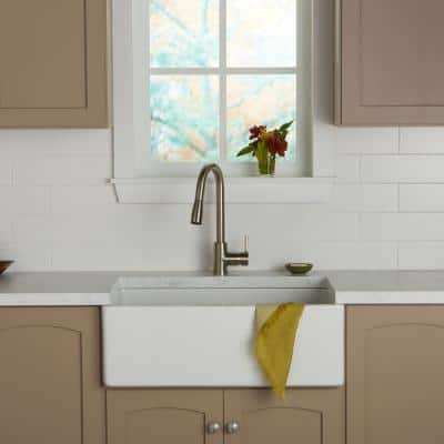 Restore 4 in. x 16 in. Ceramic Bright White Subway Tile (13.20 sq. ft. / Case)