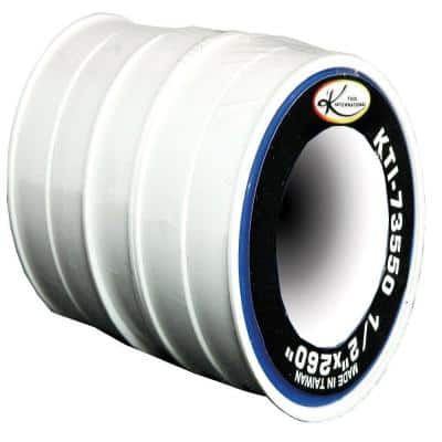 Pipe Sealing Tape 1/2 in. x 260 in. 5/Sleeve