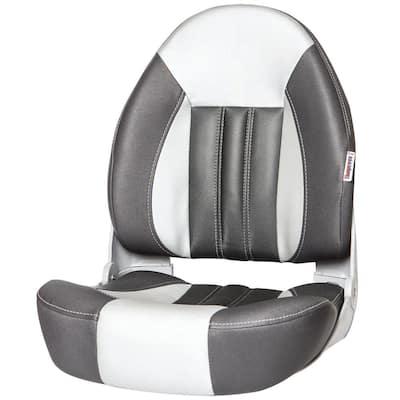 Probax High-Back Orthopedic Boat Seat - Charcoal/Gray/Carbon