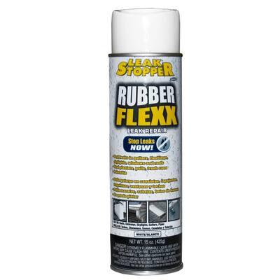15 oz. LEAK STOPPER RUBBER-FLEXX Sealant (White)