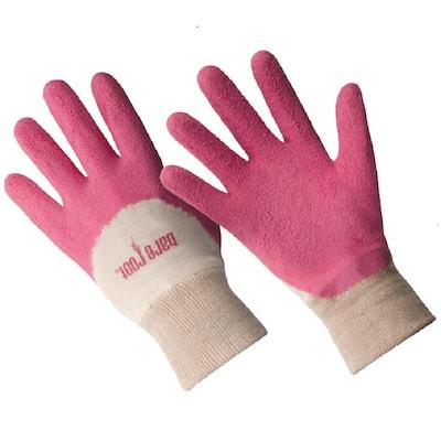 Ladies Premium Medium/Large Latex Coated Glove - Honeysuckle
