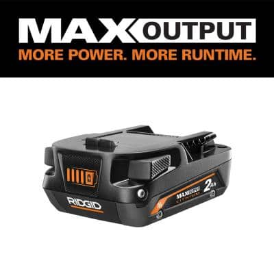 18V 2.0 Ah MAX Output Lithium-Ion Battery
