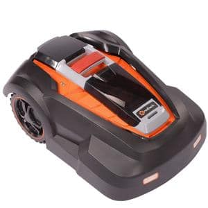 4.0 Ah Lithium-Ion Easy, Safe, Fully Autonomous Robotic Lawn Mower with Install Kit, by Redback - RM24 (9.5in.)