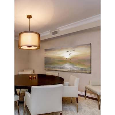 "30 in. H x 60 in. W ""Hyman"" by Parvez Taj Printed Canvas Wall Art"