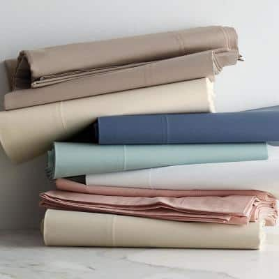 Organic 300-Thread Count Cotton Percale Sham