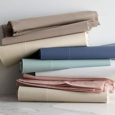 Organic 300-Thread Count Cotton Percale Pillowcase (Set of 2)