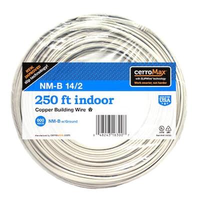 250 ft. 14/2 White NM-B Wire