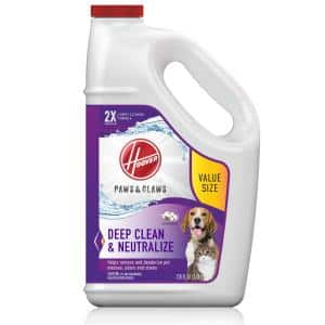128 oz. Paws and Claws Pet Carpet Cleaner Solution