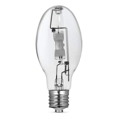 175-Watt ED28 Shape Clear Metal Halide High Intensity Discharge E39 Mogul Base HID Light Bulb (1-Bulb)