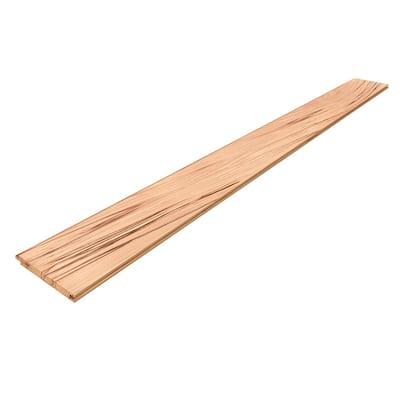 1 in. x 6 in. x 8 ft. Rustic Beech Nickel Gap Board (6-Pack)