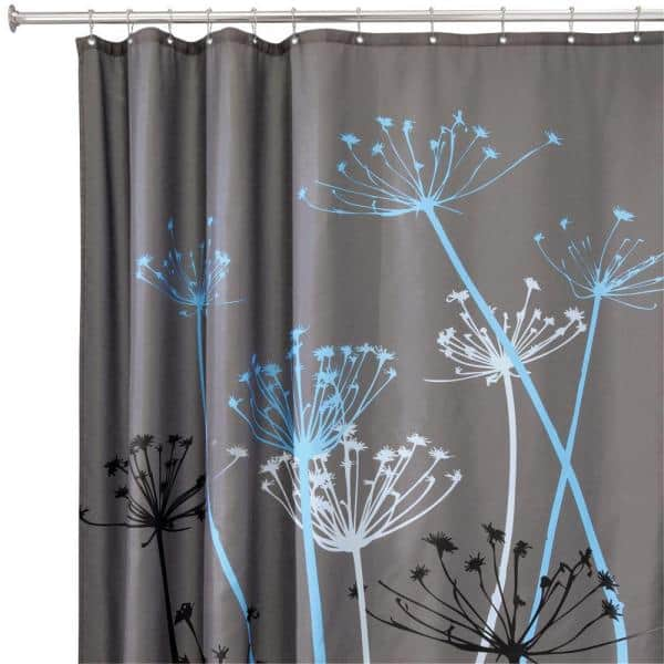 Shower Curtain In Gray Blue 37221, Shower Curtains Gray And Blue