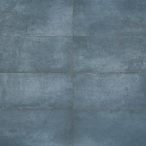 Forge Indigo 24 in. x 12 in. Matte Porcelain Floor and Wall Tile (7 Pieces, 13.56 Sq. Ft. /Case)