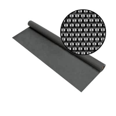 36 in. x 50 ft. Charcoal Super Solar Screen