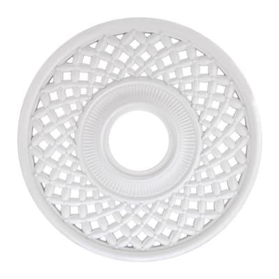 Botino 12 in. White Ceiling Medallion