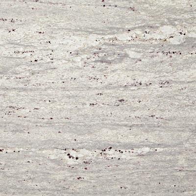 3 in. x 3 in. Granite Countertop Sample in Thunder White