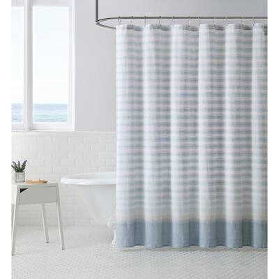 Light Blue Shower Curtain 180x180