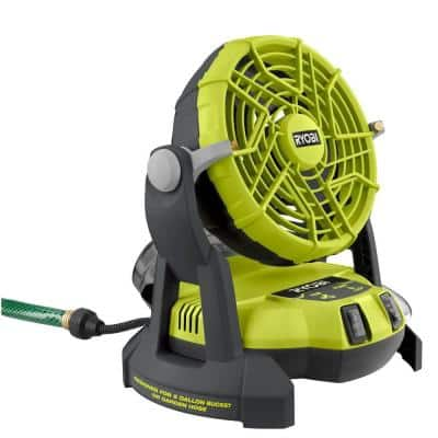 ONE+ 18V Portable Bucket Top Misting Fan (Tool Only)