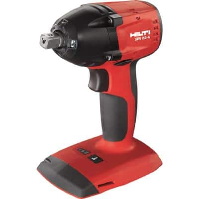 SIW 22-Volt Lithium-Ion 3/8 in. Cordless Brushless Impact Wrench (Tool Only)