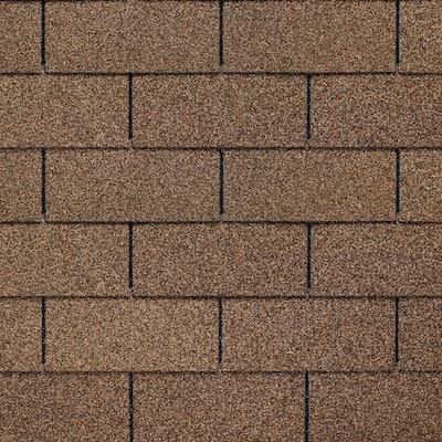 Royal Sovereign Golden Cedar Algae Resistant 3-Tab Roofing Shingles (33.33 sq. ft. per. Bundle) (26-pieces)