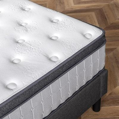 12 in. Medium Euro Top Comfort Support Hybrid Mattress