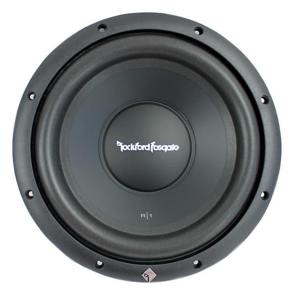 Rockford Fosgate Prime 10 In 300 Watt 4 Ohm Svc Car Audio Subwoofer Sub R1s4 10 The Home Depot