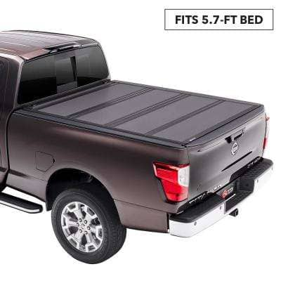 MX4 Tonneau Cover for 17-19 Titan 5 ft. 7 in. Bed