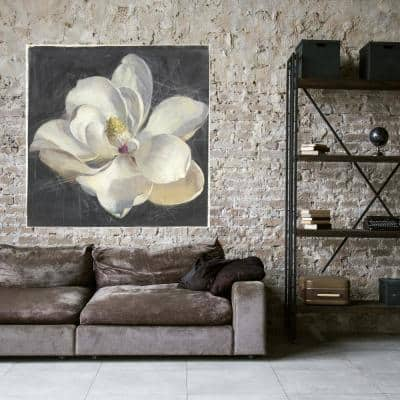 48 in x 48 in 'Vivid Floral IV' by Danhui Nai Fine Art Wrapped Canvas Print Wall Art