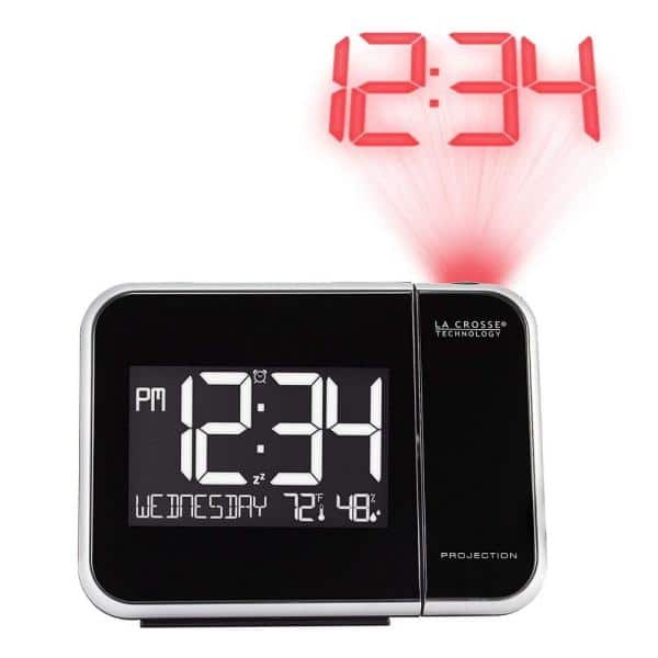 Calendar Lancoon Indoor Temperature Humidity Monitor Multifunctional Desk Clock AC09C Weather Forecast Station with Large LCD Screen//Voice Control Backlight//Snooze