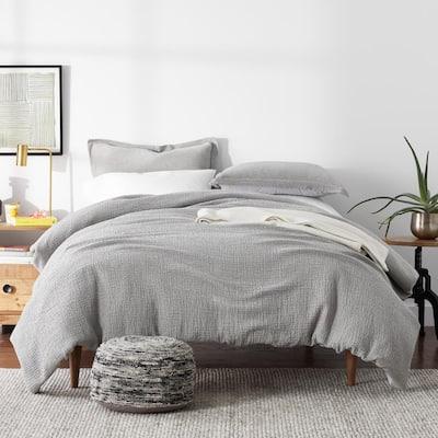 Weaver Organic Solid Cotton Duvet Cover