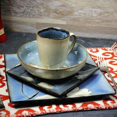 Bloomington 16-Piece Casual Miscellaneous Stoneware Dinnerware Set (Service for 4)