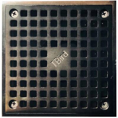 5 in. x 5 in. Square Oil Rubbed Bronze Grate