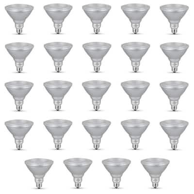 90-Watt Equivalent PAR38 Dimmable CEC Title 24 Compliant LED ENERGY STAR 90+ CRI Flood Light Bulb Bright White (24-Pack)