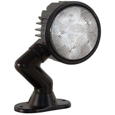 6-Clear LED 5 in. Round Flood Light