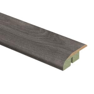 Grey Oak 1/2 in. Thick x 1-3/4 in. Wide x 72 in. Length Laminate Multi-Purpose Reducer Molding