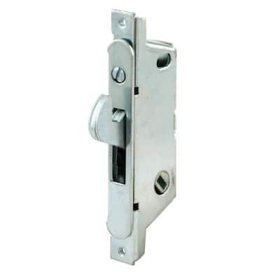 Adams Right, Stainless Steel, Round Faceplate, Patio Door, Mortise Lock