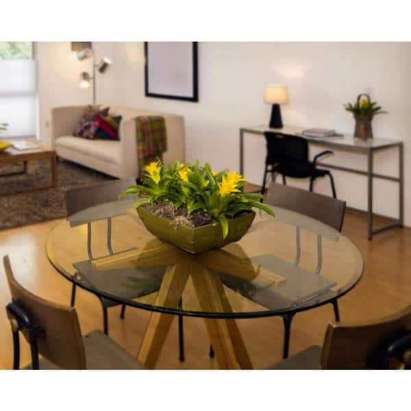 Clear Round Glass Table Top, 16 Inch Round Glass Table Top