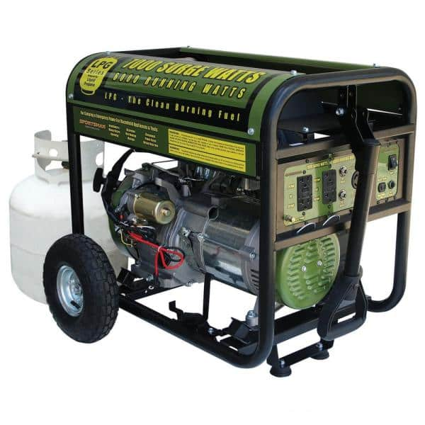 Sportsman 7,000/6,000-Watt Propane Gas Powered Electric Start Portable  Generator-GEN7000LP - The Home Depot   Sportsman Generator Wiring Diagram      The Home Depot