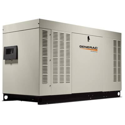 60,000-Watt 120-Volt/240-Volt Liquid Cooled Standby Generator Single Phase with Aluminum Enclosure