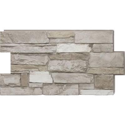 24 in. x 48 in. Ledgestone Almond Taupe Stone Veneer Panel